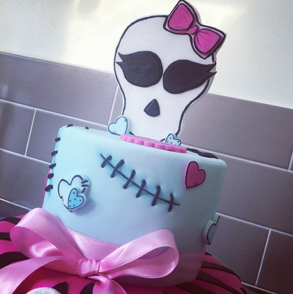 Monster High Cake 2 Licky Lips Cakes Liverpool