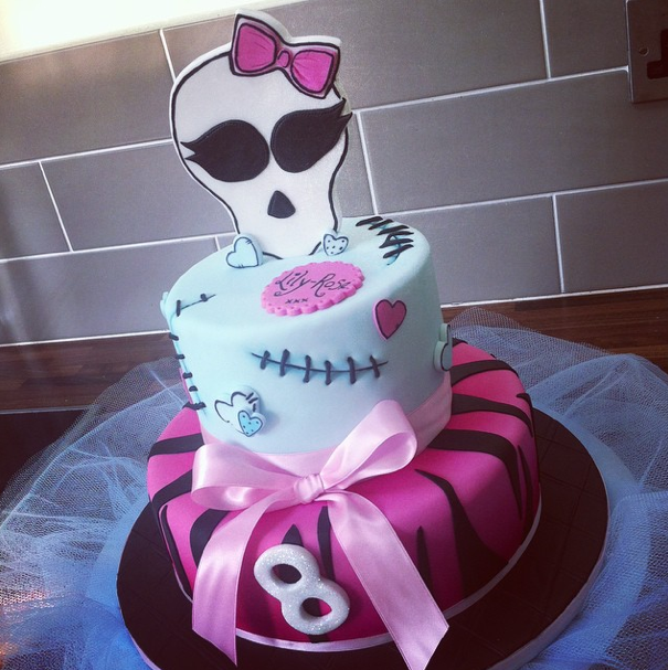 Monster High Cake 3 Licky Lips Cakes Liverpool