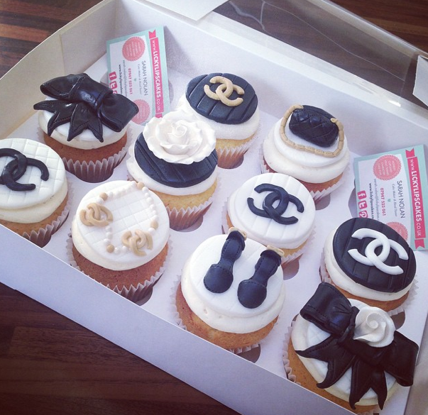 Chanel Cupcakes Licky Lips Cakes Liverpool