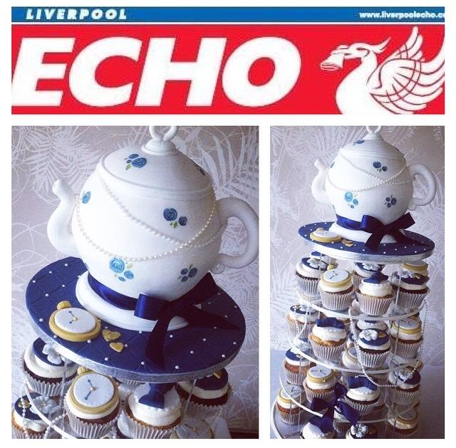 Liverpool Echo National Cupcake Week Feature Licky Lips Cakes