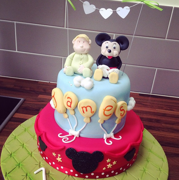 Licky Lips Cakes Liverpool Childrens Cake Disney Mickey Mouse Cake