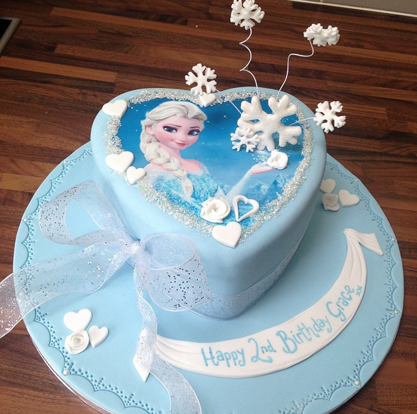 Licky Lips Cakes Liverpool Childrens Cake Frozen Cake