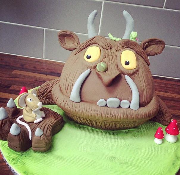Licky Lips Cakes Liverpool Childrens Cake Gruffalo Cake