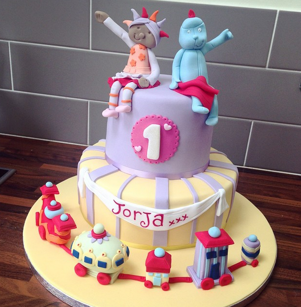 Licky Lips Cakes Liverpool Childrens Cake In The Night Garden Cake