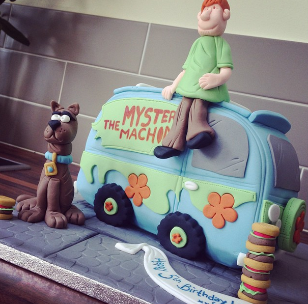 Licky Lips Cakes Liverpool Childrens Cake Scooby Doo Cake