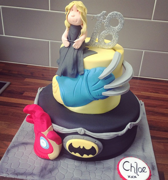 Licky Lips Cakes Liverpool Childrens Cake Wolverine Cake