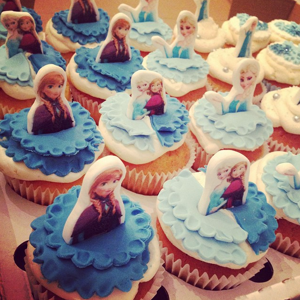 Licky Lips Cakes Liverpool Cupcakes Frozen