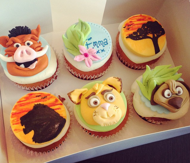 Licky Lips Cakes Liverpool Cupcakes Lion King