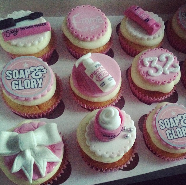 Licky Lips Cakes Liverpool Cupcakes Soap And Glory