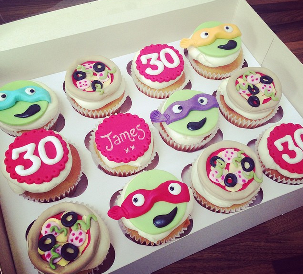 Licky Lips Cakes Liverpool Cupcakes Tmnt Pizza