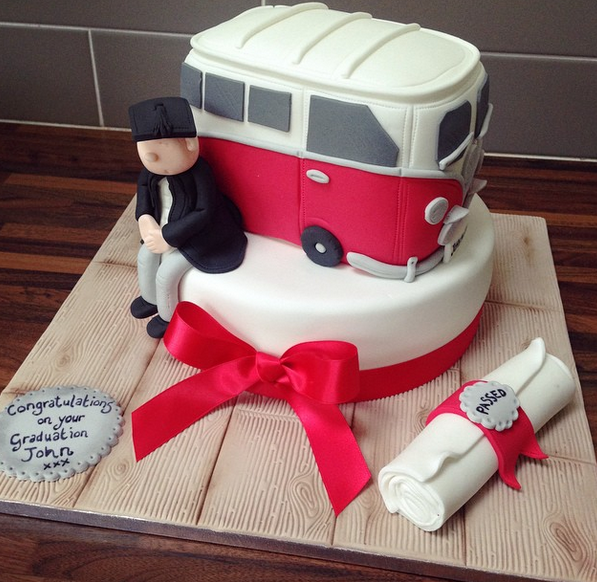 Licky Lips Cakes Liverpool Men Camper Vw Cake