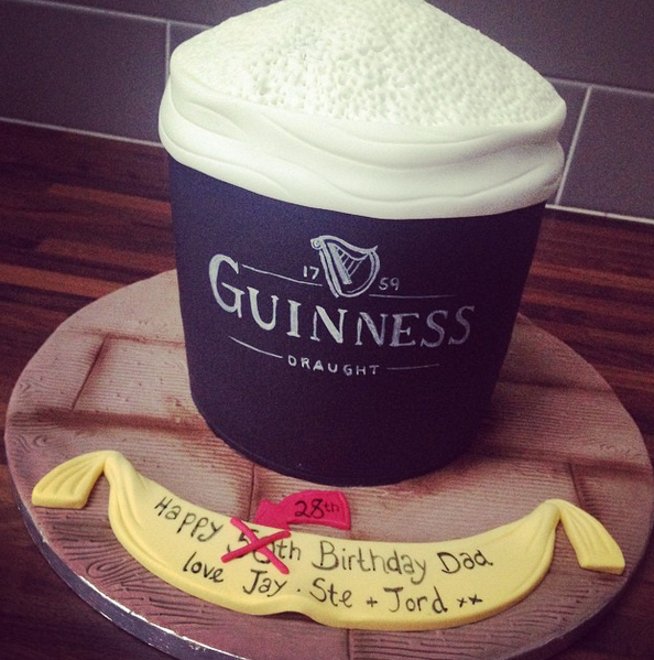 Licky Lips Cakes Liverpool Men Guinness Cake